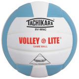 Tachikara SVMNC Volley-Lite® Color Volleyball Powder Blue/White