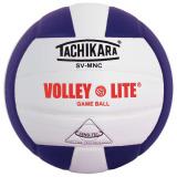 Tachikara SVMNC Volley-Lite® Color Volleyball Purple/White