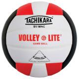 Tachikara SVMNC Volley-Lite® Color Volleyball Scarlet/White/Black