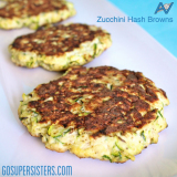 Tasty Tuesday – Zucchini Hash Browns