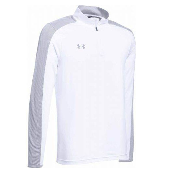 Under Armour Men's Novelty Locker 1/4 Zip White