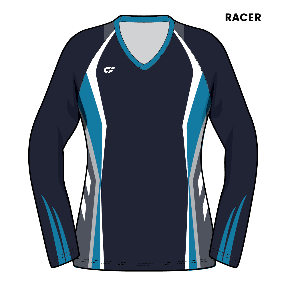 Custom Fuze Women's Volleyball Jerseys