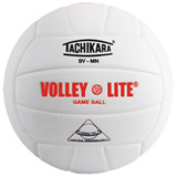 Tachikara SVMN Volley-Lite® White Volleyball