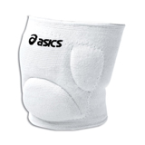 ASICS Ace Low Profile Knee Pads - ADULT White
