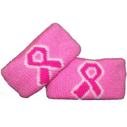 Pink Ribbon Armbands