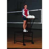 Coaches Spike/Set Stand with Ball Rack