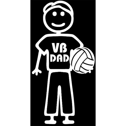 Volleyball Stick Dad