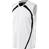 ASICS Men's Tyson Sleeveless Jersey White/Black/Black