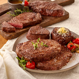 Steak Lover's Triple Treat