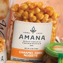 Amana Golden Caramel Corn Nuggets 6 oz. (Ride-along Special $4.69)