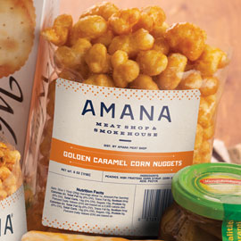 Amana Golden Caramel Corn Nuggets 6 oz.