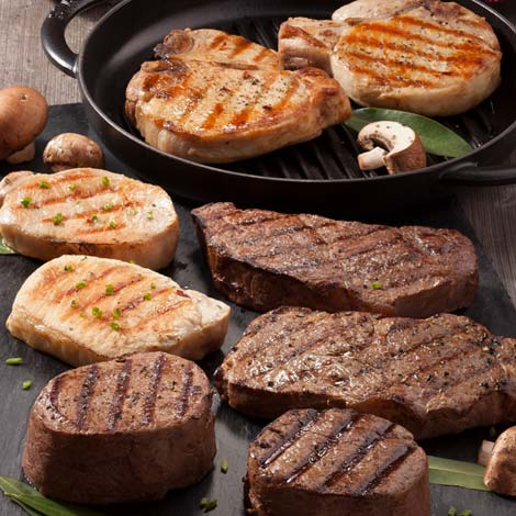 Create Your Own Steak & Chop Sampler