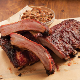 Baby Back Barbecued Ribs