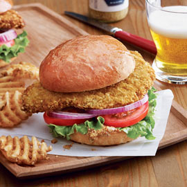 Breaded Pork Tenderloins