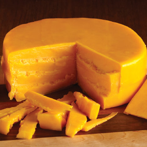 Cheddar Cheese Wheels - Two 1 lb.