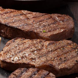 2 (10 oz.) New York Strips