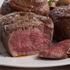 2 ( 8 oz.) Filet Mignons