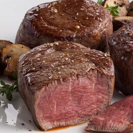 2 ( 6 oz.) Filet Mignons
