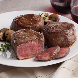 Amana Beef Filet Mignons