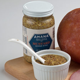 Amana German-Style Mustard 8.5 oz. (Ride-Along Special $3.99)