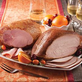Bone-In Ham & Smoked Turkey Duo