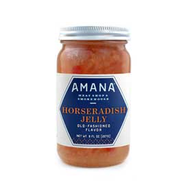 Amana Horseradish Jelly 8 oz. (Ride-Along Special $3.99)