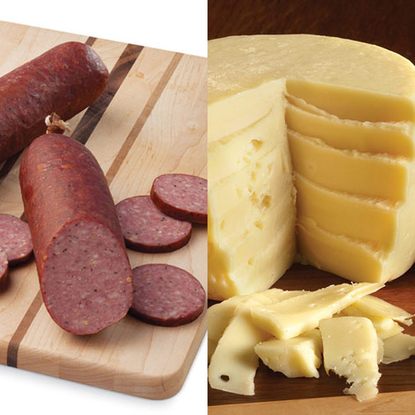 Sausage & Swiss Cheese Bundle