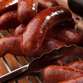 Amana Smoked Bratwurst 1 lb. (Ride-Along Special Price $6.25)