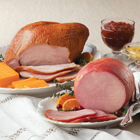 Smoked Turkey & Ham Combo