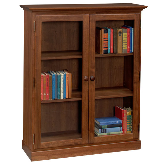 Amana Glass Door Bookcase