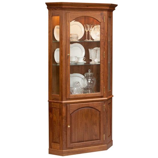 Amana Queen Anne Corner Cupboard
