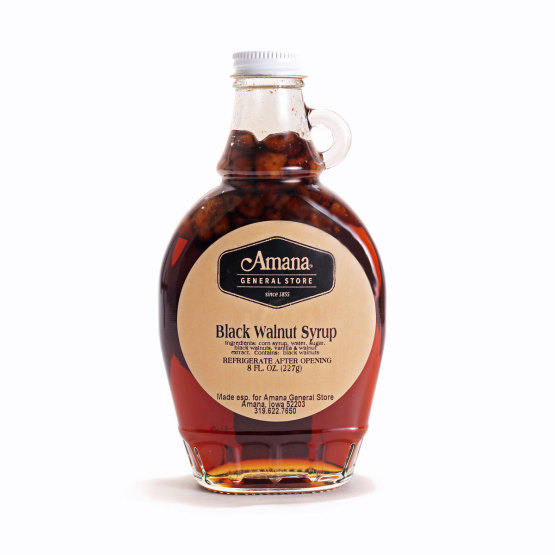 Black Walnut Syrup