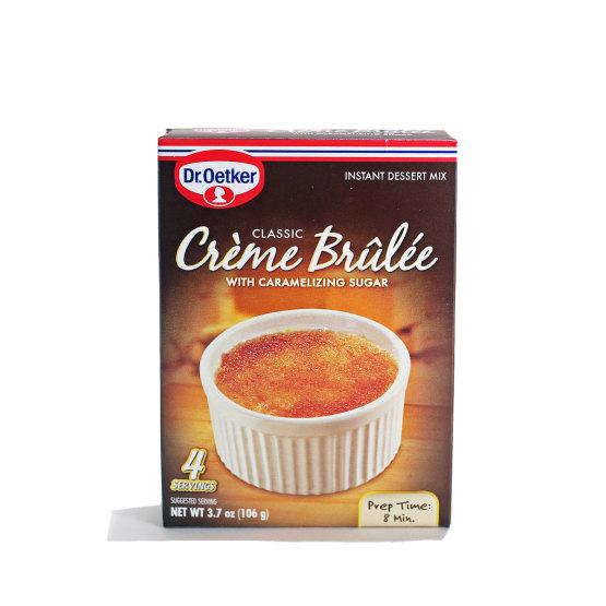 Dr. Oetker Creme Brulee Dessert Mix
