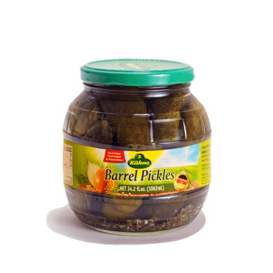 Kuhne Barrel Pickles