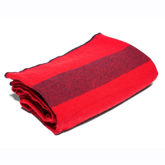 Non-Issued Red Civil War Blanket