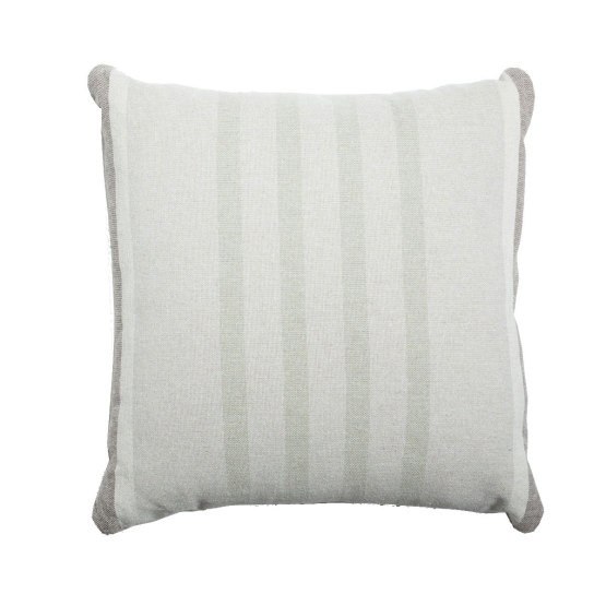 Eco2 Pillow South Stripe Dark Linen