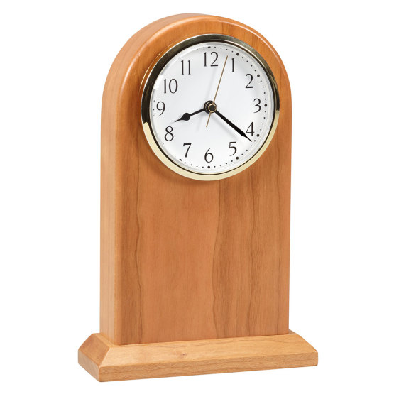 Amana Large Arched Desk Clock