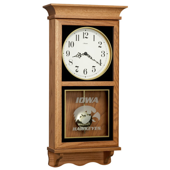 Iowa Hawkeye Wall Clock Iowa Gifts Amana Furniture