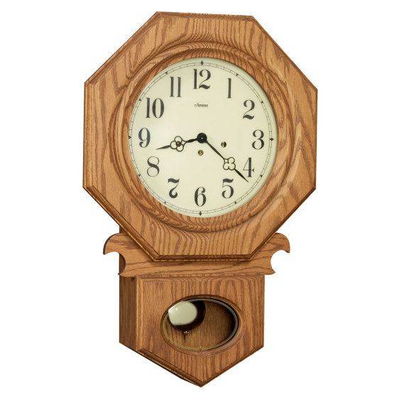 Amana Octagon School Clock