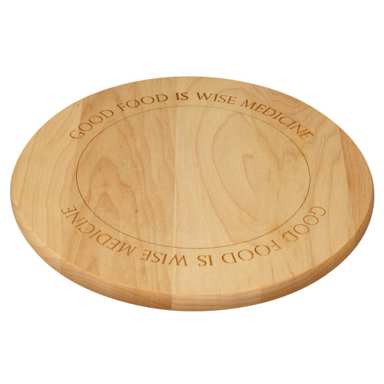 Amana Round Maple Cutting Board