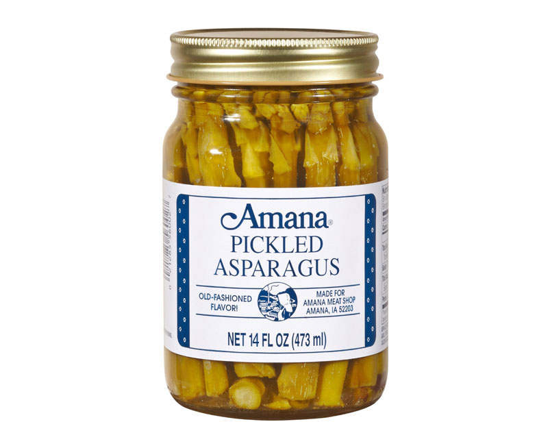 Amana Pickled Asparagus 14 oz.