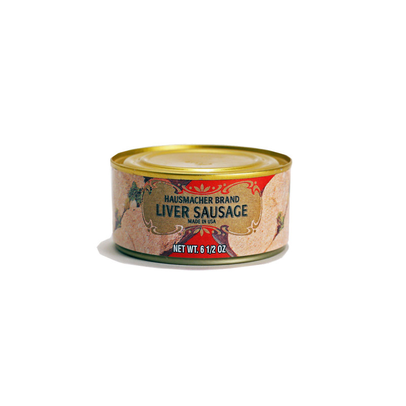 Geiers Old German Style Liver Sausage For Sale Amana Meat Market