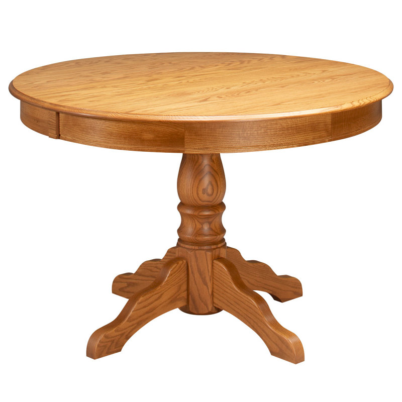 225 & Amana Round Pedestal Dining Table