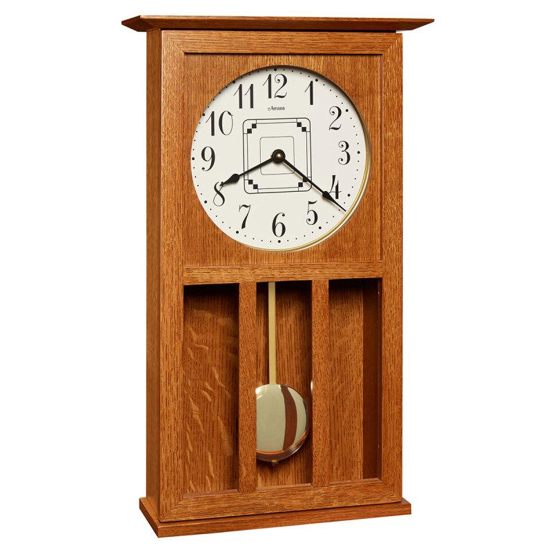 Amana Mission Wall Clock - Amana Furniture & Clock Shop