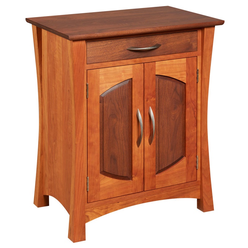 Amana Coopers Nightstand with Drawers Amana Furniture & Clock Shop