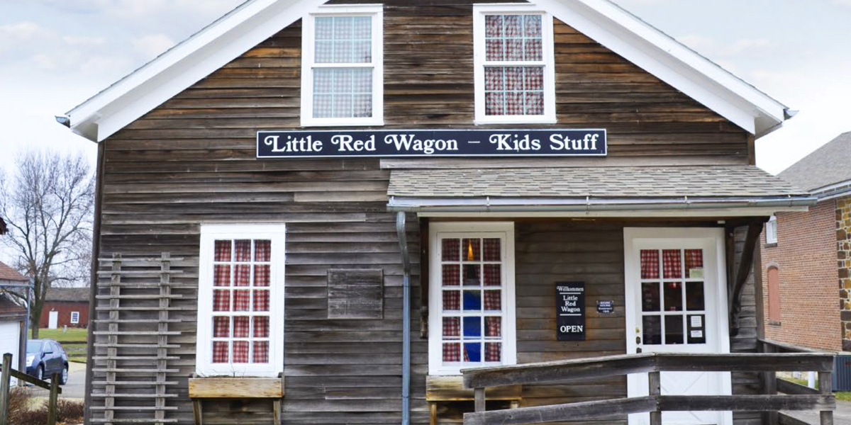 Little Red Wagon Toy Shop