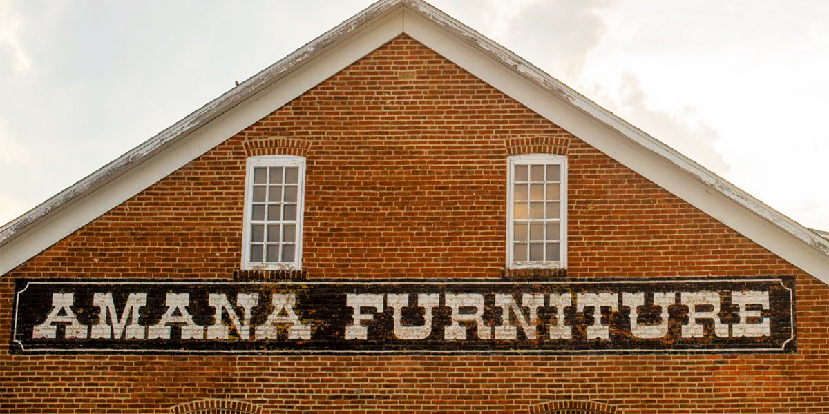 Visit the Amana Furniture & Clock Shop