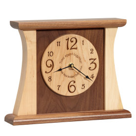 Amana Time Spent Together Arched Clock