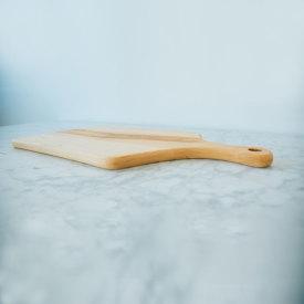 Offset Wide Kitchen Board - Maple