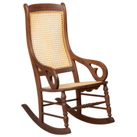 Amana Wooden Rocker- Amana Shops